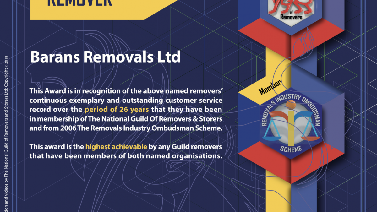 Super Elite Honours Remover - Barans Removals