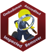 Ombudsman Accredited Inspected Remover